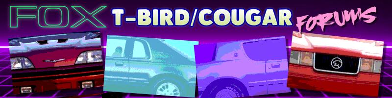 Fox T-Bird/Cougar Forums